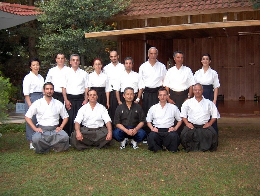 Seminario kyudo - Bitetto (BA) - 16-19.06.2005