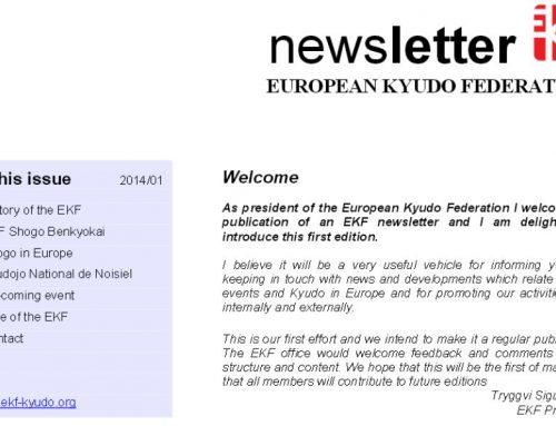 EKF Newsletter